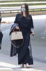 ANGELINA JOLIE Gets a Private Tour of The Brooklyn Museum 06/10/2021