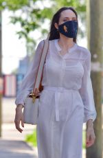 ANGELINA JOLIE Out in New York 06/10/2021