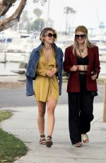 ANNALYNNE and RACHEL MCCORD Out in Los Angeles 06/28/2021