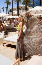 ANNALYNNE MCCORD in Bikini at Elia Beach Club Grand Opening 06/11/2021