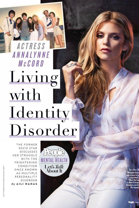 ANNALYNNE MCCORD in People Magazine, June 2021