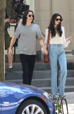 ANNE HATHAWAY and Jared Leto on the Set of WeCrashed in New York 06/08/2021