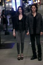 ANNE HATHAWAY and Jared Leto on the Set of WeCrashed in New York 06/10/2021