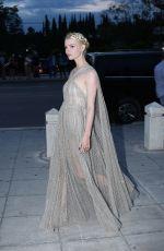 ANYA TAYLOR-JOY Arrives at Christian Dior Fashion Show in Athens 06/17/2021