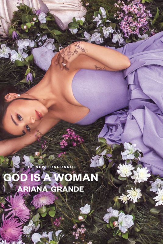 ARIANA GRANDE for God Is A Woman Fragrance Ad, June 2021