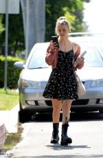 ARIANA MADIX Leaves Tom Schwartz Home in Los Angeles 06/18/2021