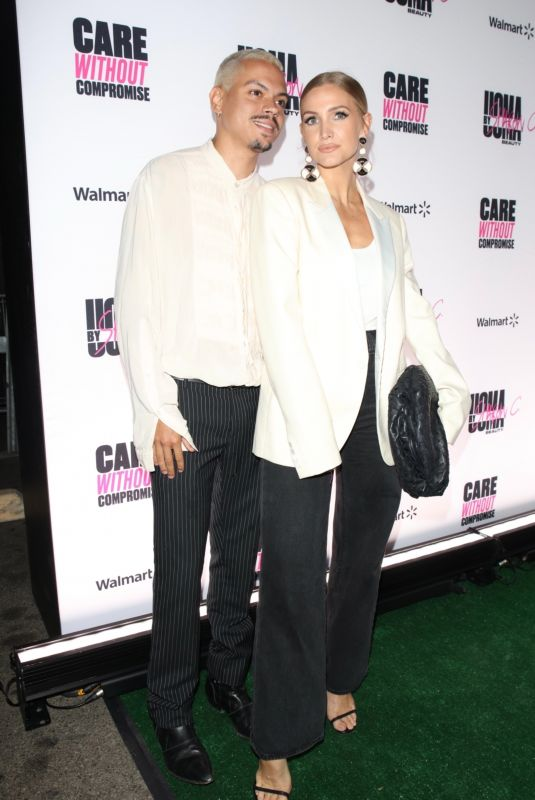 ASHLEE SIMPSON and Evan Ross at UOMA Beauty by Sharon C. Event in Hollywood 06/18/2021