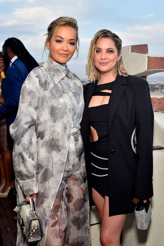 ASHLEY BENSON and RITA ORA at Coin Cloud Cocktail Party in Los Angeles 06/15/2021