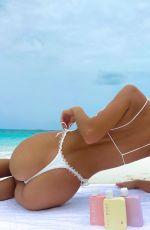 ASHLEY MARIE DICKERSON in Bikinis - Instagram Photos 06/22/2021