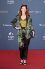 AUDREY FLEUROT at 60th Monte Carlo TV Festival Closing Ceremony 06/22/2021