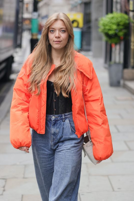 BECKY HILL Leaves Hits Radio in London 06/17/2021