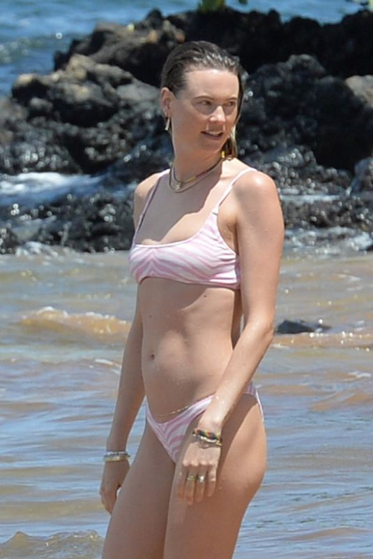 BEHATI PRINSLOO in Bikini at a Beach in Maui 06/06/2021