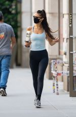 BELLA HADID Leaves a Gym in New York 06/15/2021