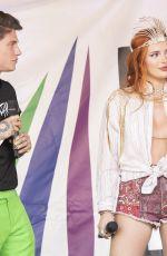 BELLA THORNE at Italian Gay Pride in Milan 06/25/2021