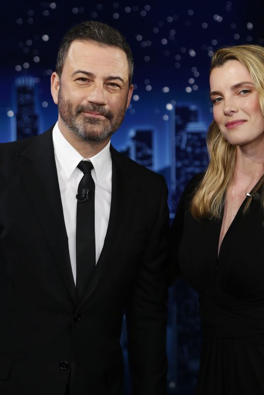 BETTY GILPIN at Jimmy Kimmel Live in Los Angeles 06/16/2021