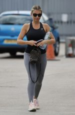 BILLIE FAIERS Leaves a Gym in Essex 06/10/2021