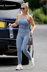 BILLIE FAIERS on the Set of Mummy Diaries Spin Off in Essex 06/16/2021