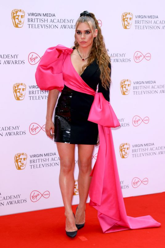BILLIE PIPER at Virgin Media British Academy Television Awards 2021 in London 06/06/2021