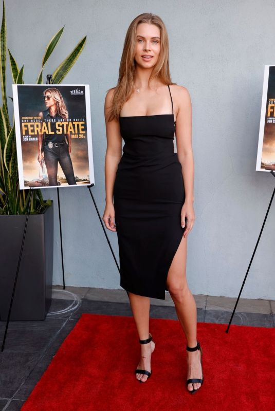 BRANDY GORDON at Feral State Premiere in Los Angeles 06/02/2021