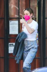 BRIE LARSON Out in New York 06/06/2021