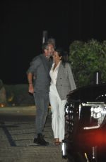 BROOKE BURKE and Scott Rigsby Out Kissing at Nobu in Malibu 06/28/2021