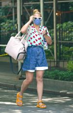 BUSY PHILIPPS Out and About in New York 06/25/2021