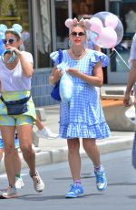 BUSY PHILIPPS Out at Disney World in Florida 06/22/2021