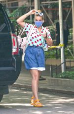 BUSY PHILIPPS Out on Her 42nd Birthday in New York 06/25/2021