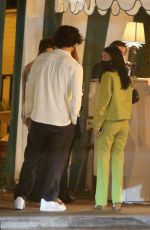 CAMILA MENDES and Boyfriend Charles Melton Out with DYLAN and Cole Sprouse and STELLA MAXWELL at La Poubelle Bistro in Los Angeles 06/05/2021