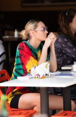 CANDICE SWANEPOEL at Bar Pitti in New York 06/09/2021