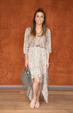 CAPUCINE ANAV at French Open at Roland Garros 05/30/2021