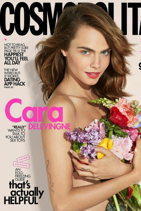 CARA DELEVINGNE in Cosmopolitan Magazine, July/August 2021