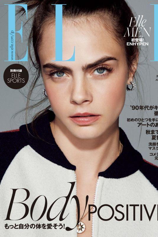 CARA DELEVINGNE in Vogue Magazine, Japan August 2021