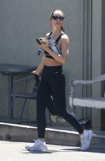 CARA SANTANA at a Gym in Los Angeles 06/14/2021