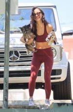 CARA SANTANA Leaves Gym Session in Los Angeles 06/11/2021