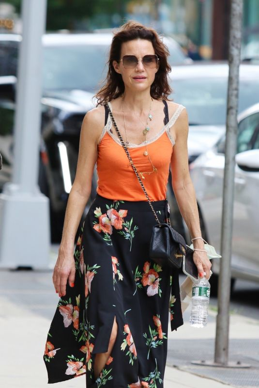 CARLA GUGINO Out and About in New York 06/27/2021