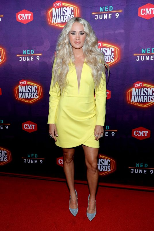 CARRIE UNDERWOOD at 2021 CMT Music Awards in Nashville 06/09/2021
