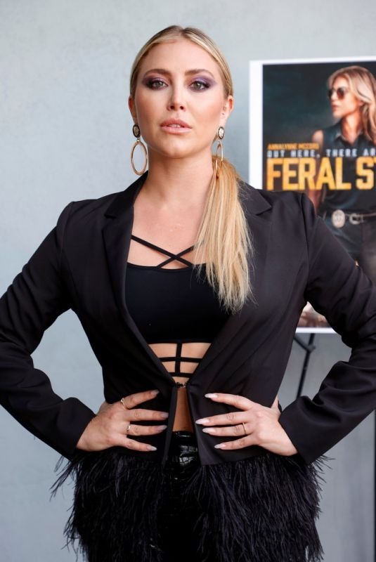 CASSIE SCERBO at Feral State Premiere in Los Angeles 06/02/2021