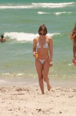 CHANTEL JEFFRIES and Her Sister in Bikinis in Miami Beach 06/06/2021