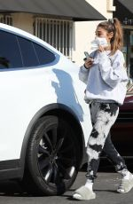 CHANTEL JEFFRIES Out for Coffee in Santa Monica 06/02/2021