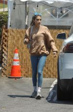 CHANTEL JEFFRIES Out Shopping in Los Angeles 06/19/2021