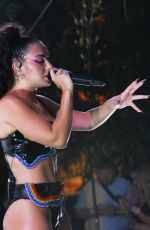 CHARLI XCX Performs at Wynwood Pride in Miami 06/18/2021