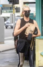CHARLIZE THERON Out in Sherman Oaks 06/15/2021