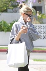 CHARLOTTE MCKINNEY Out Shopping in West Hollywood 06/16/2021