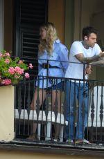 CHIARA FERRAGNI and Fedez at Hotel Splendido in Portofino 06/11/2021