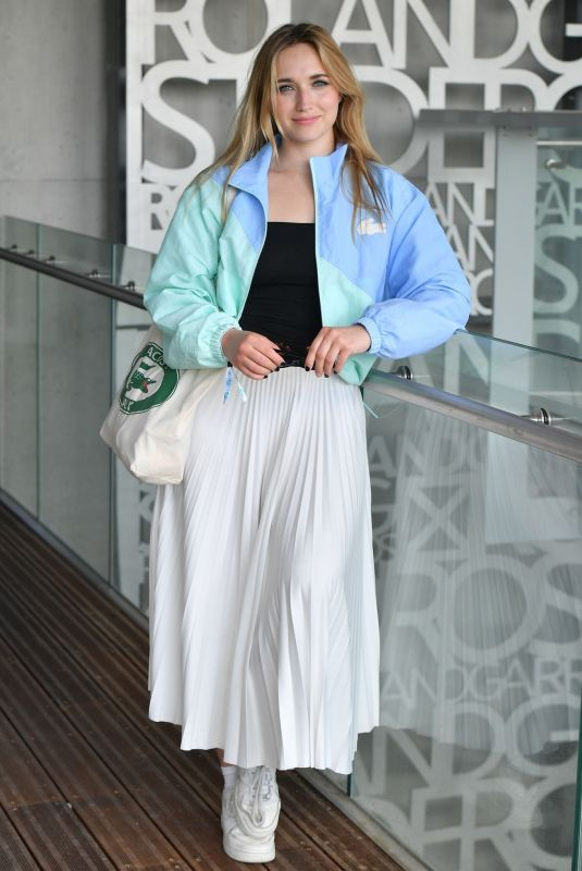 CHLOE JOUANNET at French Open at Roland Garros 05/30/2021