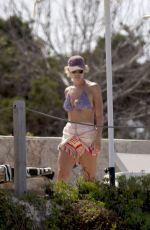CHLOE MEADOWS in Bikini at a Beach in Ibiza 06/14/2021