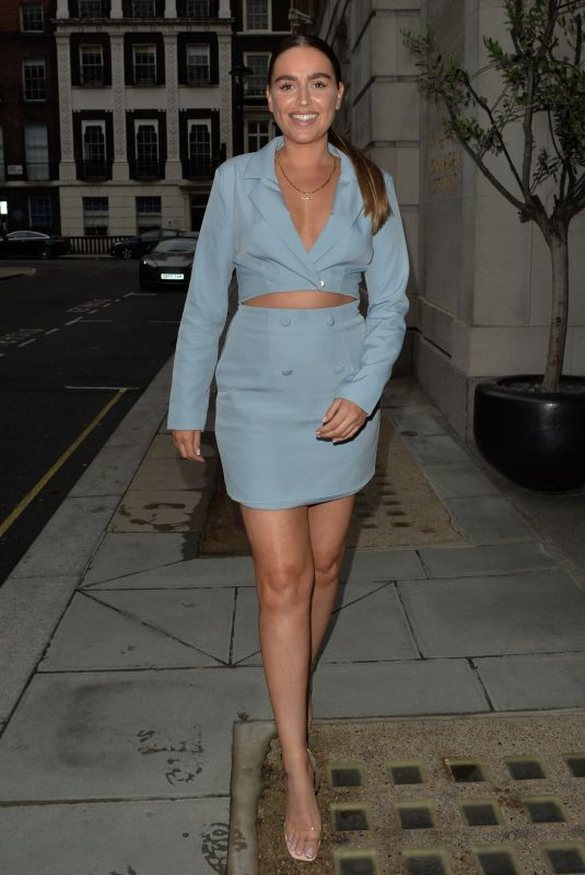 CHLOE ROSS at Smith and Wollensky Restaurant in London 06/13/2021