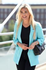 CHRISTINE MCGUINNESS Out and About in Liverpool 06/15/2021