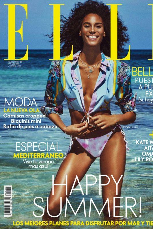 CINDY BRUNA in Elle Magazine, Spain July 2021